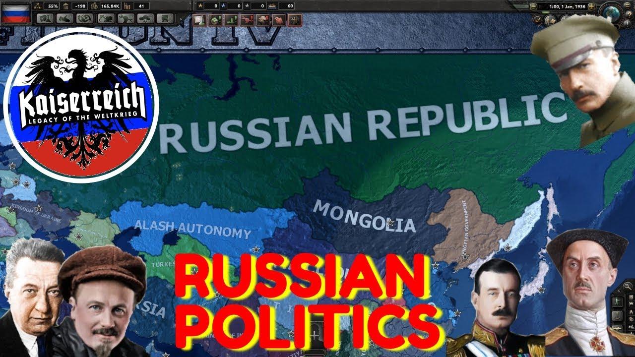 Hearts of Iron IV Kaiserreich: Intro to Russian Politics (Russia Guide)