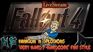 Download Video Fallout 4 | Raider With A Minigun | Mature 18+ | Harder FNV Style Survival | XBox One MP3 3GP MP4