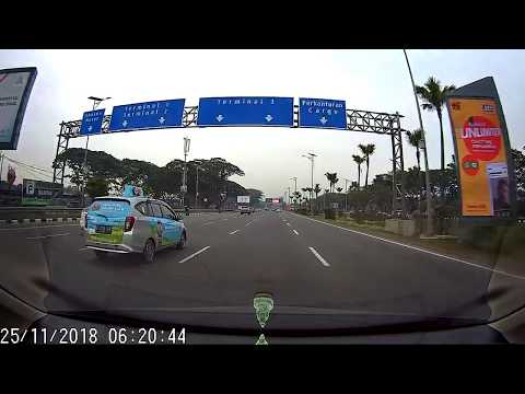 Video Recording, Blueskysea B1W Dashcam, 1080p 30fps, Indonesia Dash Cam.