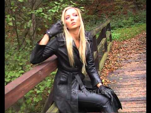Nelly 3 - Smoking in Long Leather Coat - YouTube