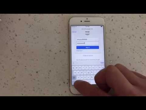How to add another email on iphone 6 plus