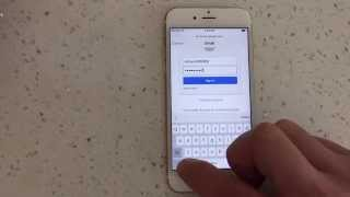 iPhone 6S / 6S Plus : How to Add / Remove Gmail Account