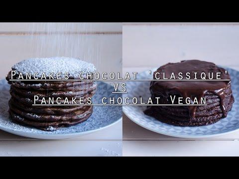 pancakes-chocolat-'classique'-vs-vegan