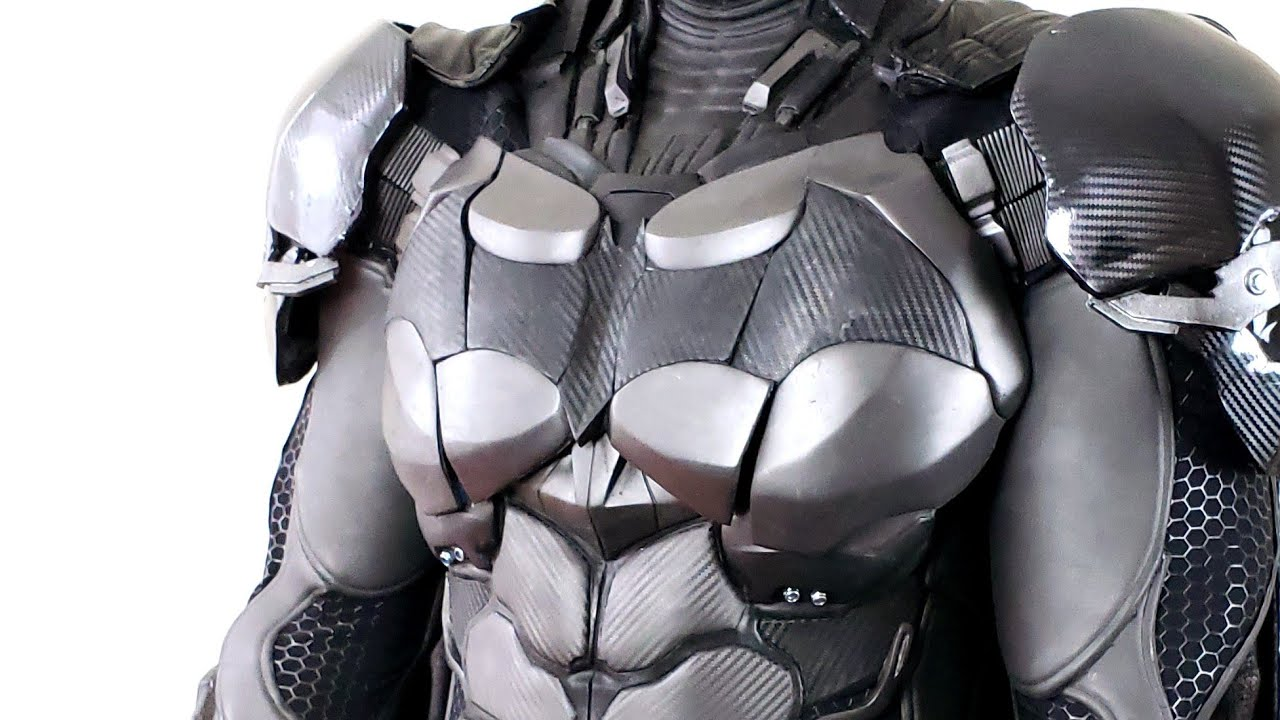 New Batman Suit Costume Cosplay Real Life Replica From Arkham Knight Made By Naythero Youtube
