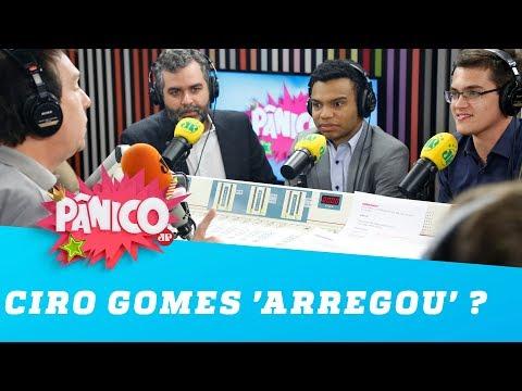 Ciro Gomes 'arregou' por não ter ido ao Pânico?