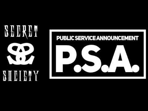Download Secret Society -P.S.A. Public Service Announcement (Energy Album)