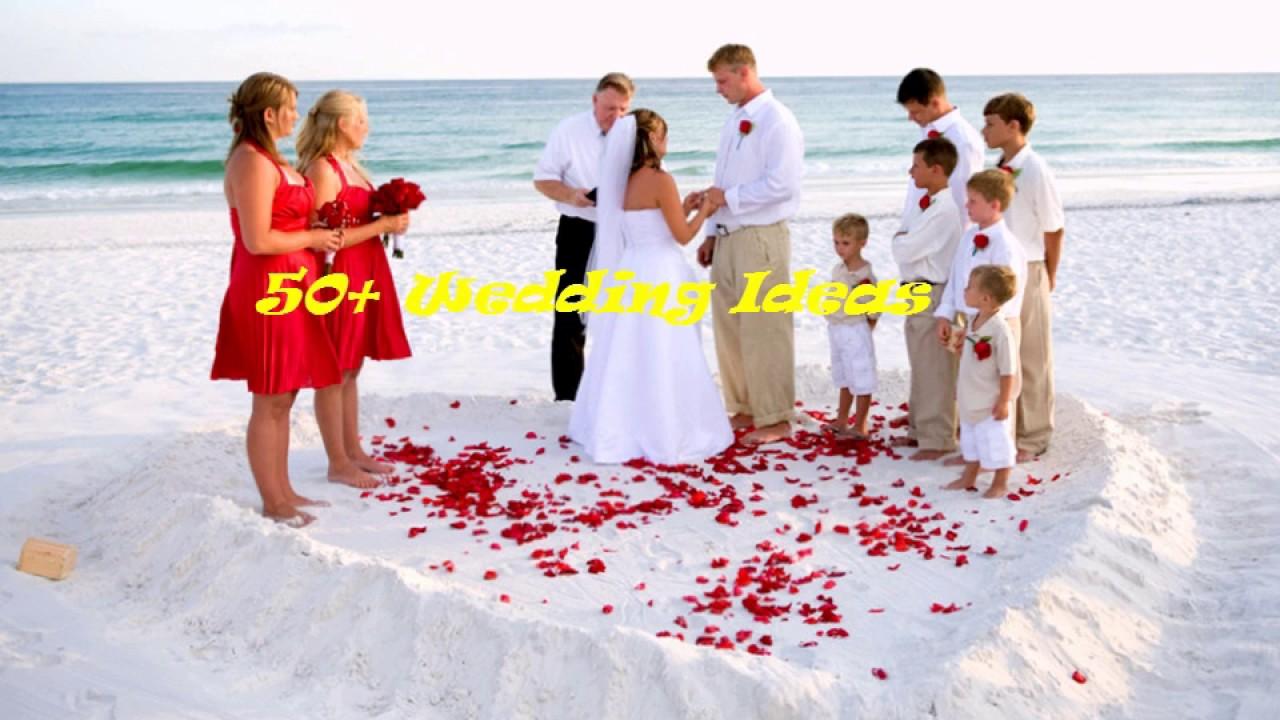 50 Beach Wedding Simple Ideas 1