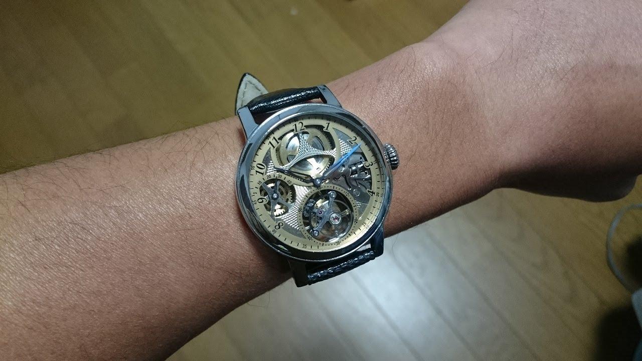 best service 553b7 4f0a4 【機械式腕時計を作ってみた part3《トゥールビヨン・パワーリザーブインジケーター》】How to make a mechanical  wristwatch part3《Tourbillon》