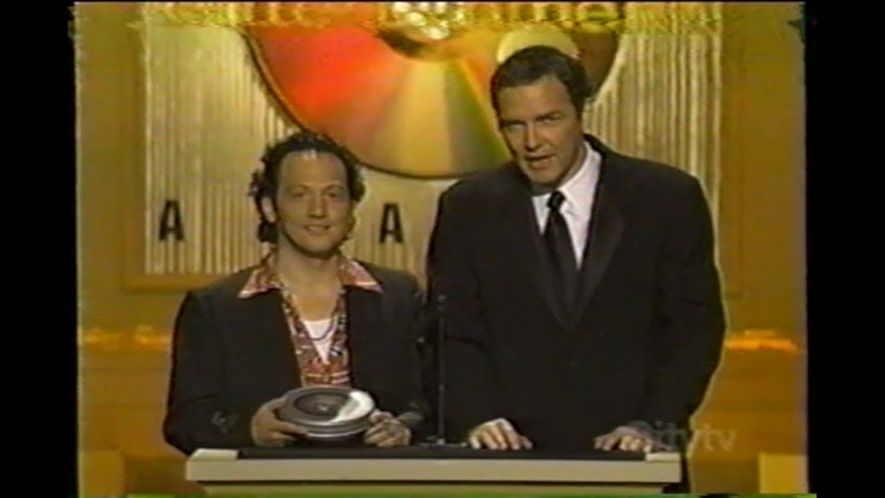 NORM MACDONALD AND ROB SCHNEIDER PRESENTING AT THE 5TH ANNUAL BLOCKBUSTER ENTERTAINMENT AWARDS