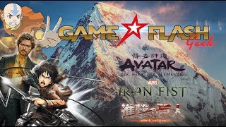 Game TV Schweiz - Avatar - Der Herr der Elemente | Iron Fist | Attack on Titan