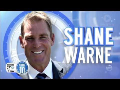 Shane Warne On The Panel