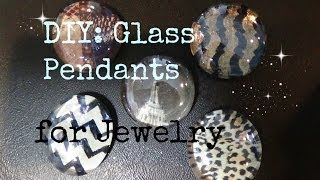 FASHION DIY: Glass Nail Polish Gems #2! Chevron w/ tape, Magazine Pictures Ect...