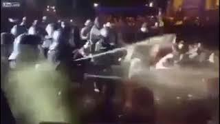 protestatari intoxicati cu gaze lacrimogene de catre jandarmi