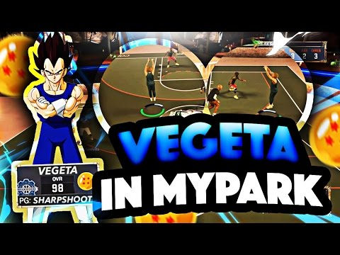 NBA2K17- VEGETA AT THE PARK! BEST JUMPSHOT IN THE GAME AFTER PATCH!(MUST WATCH!)