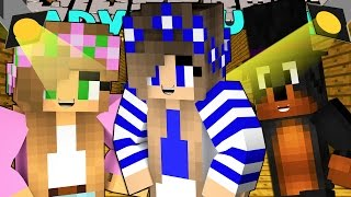 Minecraft-Little Carly Adventures-GETTING READY FOR THE BALL w/Little Kelly
