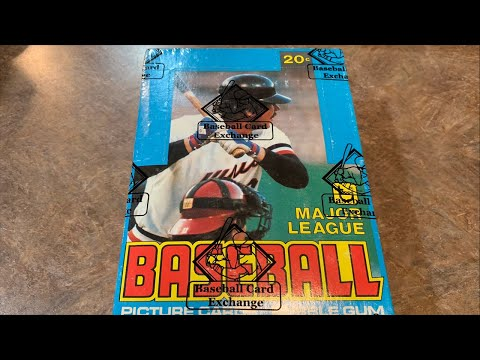 OPENING A $2000 BOX OF 1979 TOPPS BASEBALL CARDS!