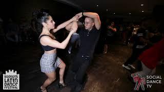 Tarek & Karen - Bachata Social Dancing | Bodrum Latin Dance Festival 2018