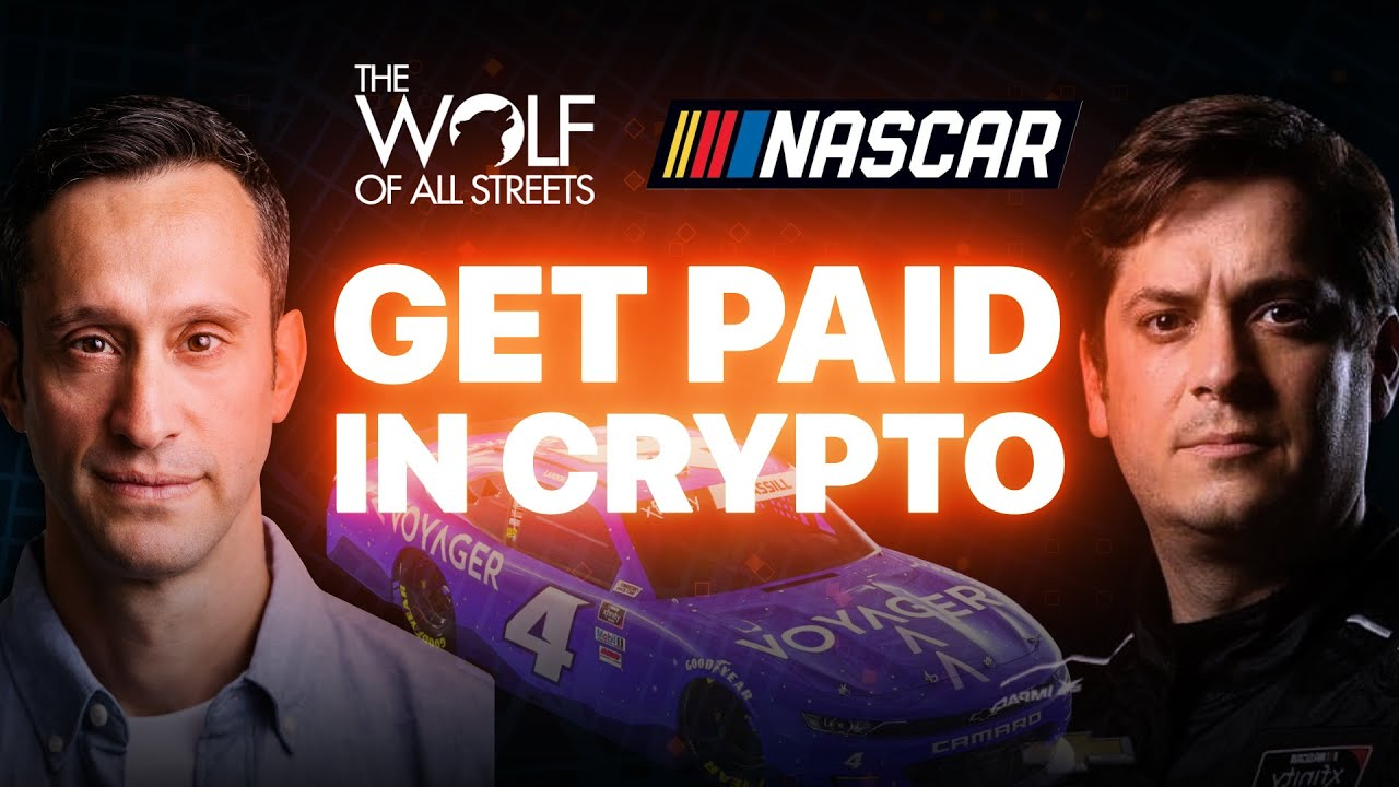 HOW TO MANAGE YOUR MONEY IF YOU GET PAID IN CRYPTO | NASCAR RACER EXPLAINS | LANDON CASSILL