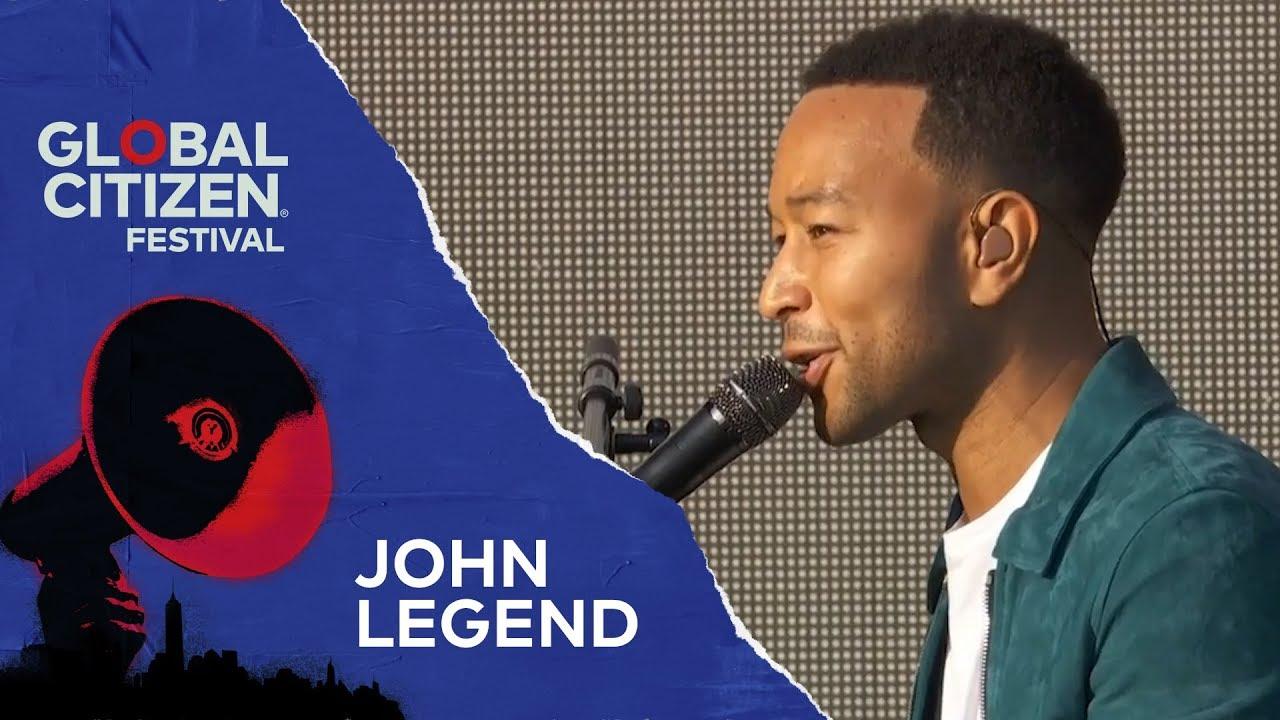 Download John Legend Performs Preach | Global Citizen Festival NYC 2018
