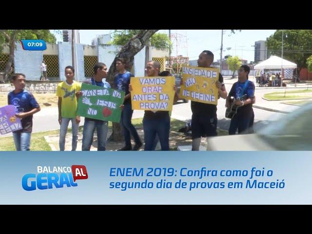 ENEM 2019: Confira como foi o segundo dia de provas em Maceió