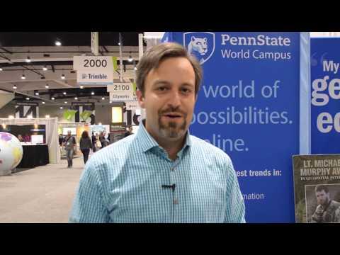 penn-state-highlights-online-gis-master's-degree-program-at-esri-uc