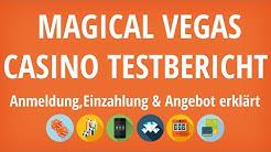 Magical Vegas Casino Testbericht: Anmeldung & Einzahlung erklärt [4K]
