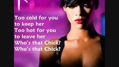 Rihanna ft David Guetta- Who's that Chick (Lyrics)