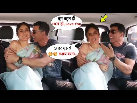Kareena Kapoor Felt shy When Akshay Kumar FLlRT Her On @MaanaDil Song | Good Newwz Promotion