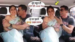 Kareena Kapoor Felt shy When Akshay Kumar FLlRT Her On @MaanaDil Song | Good Newwz Promotion