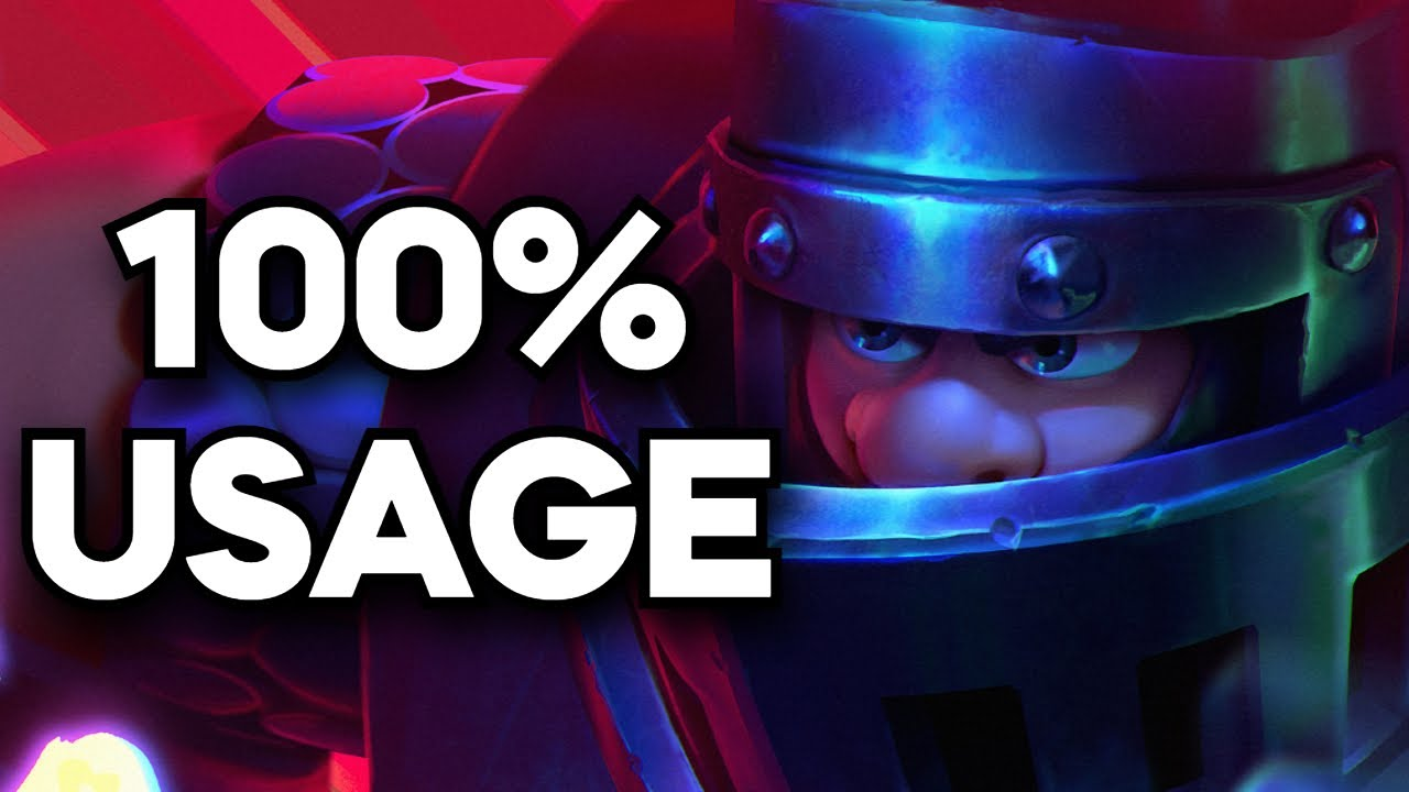 Using the 8 most POPULAR cards in Clash Royale