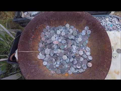 Beach Metal Detecting Silver Day 31818