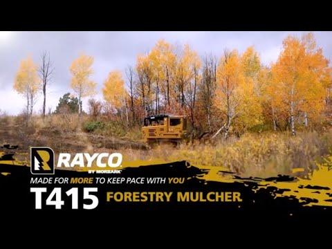 T415 Forestry Mulcher Equipment  Walk Around