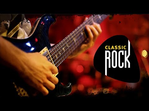 Classic Rock Improvisation in D | Two Guitar Players | Two Different Countries