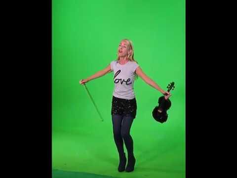 Gisele Scales (Midnight Oil,Vega) Violinist & Vocalist on TV Arcana