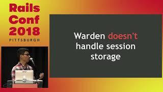 RailsConf 2018: Warden: the building block behind Devise by Leonardo Tegon