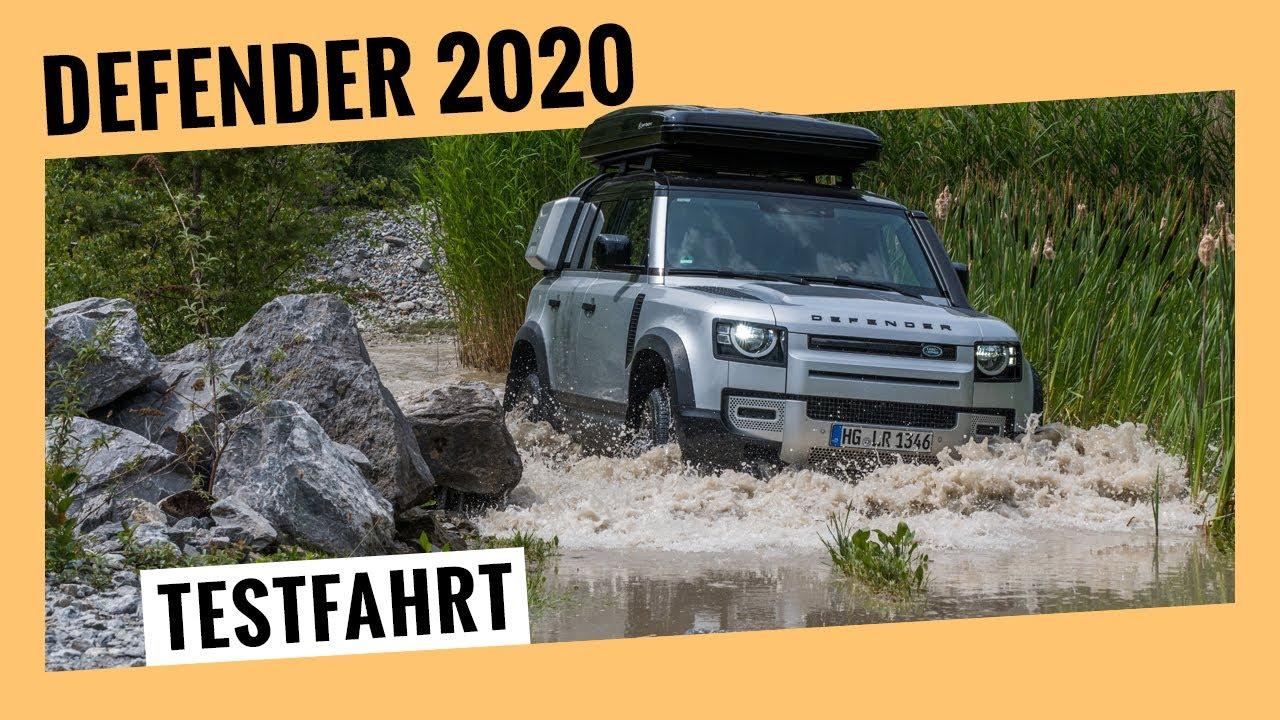 Land Rover Defender 110, D240 (2020): Erste Testfahrt