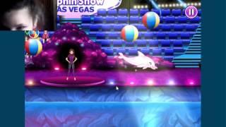 Игра про дельфинов с  подружкой Катей))( с юмором) 1 часть