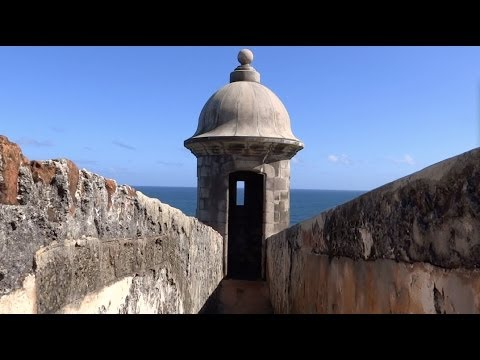Old San Juan, Puerto Rico - Castillo San Felipe del Morro HD (2013)