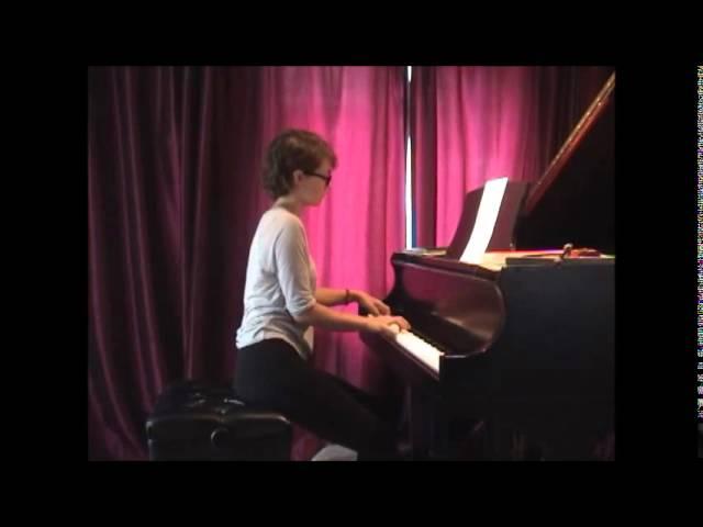 Cours de piano montreal : Neiges du compositeur quebecois: Intermediate: André Gagnon