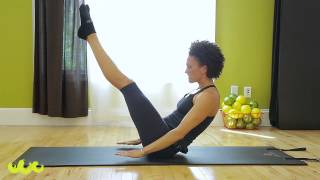 Intermediate Pilates Mat Workout