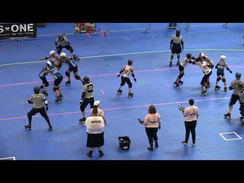 WFTDA Roller Derby - Division 2, Pittsburgh -  Game 4 -  Paris vs. Bear City