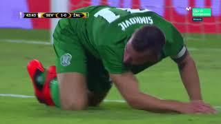 Sevilla vs Zalgiris 1-0 GOLES Y RESUMEN HD - Gol de Benega