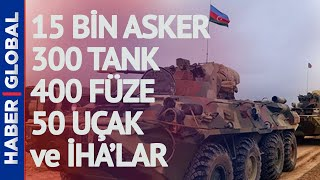 Azerbaycan Ordusundan Dev Tatbikat! 15 Bin Askerin Katıldığı Geniş Çaplı Bir Tatbikat Düzenleniyor