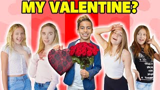 I Asked VIRAL TikTok GIRLS To Be My VALENTINE! **ROMANTIC CHALLENGE**  | The Royalty Family