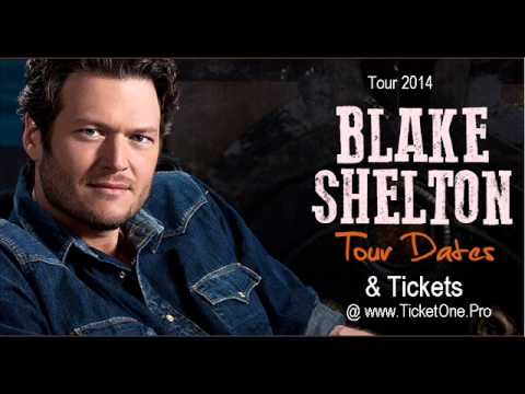 Blake Shelton - Country Megatickets Tour 2014-USA,Canada-Dates, Location, Tickets at TicketOne.Pro