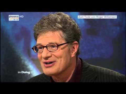Zum Tod von Roger Willemsen: Alfred Schier interviewt den Schriftsteller im Dialog am 10.09.2010