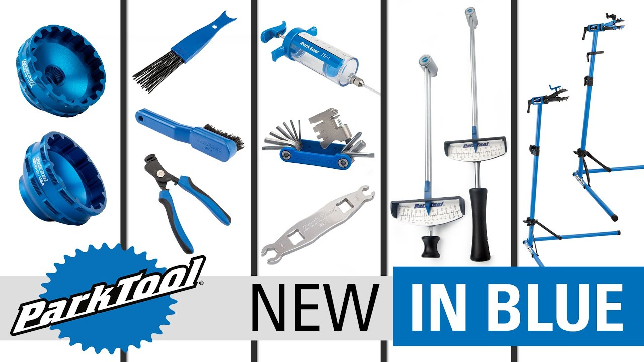 New In Blue Episode 8   New Tools for Fall 2021 and Park Tool's Multi-Tool History