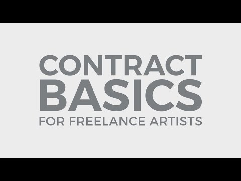 Contract Basics for Freelance Artists