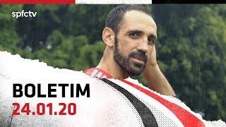 BOLETIM DE TREINO: 24.01   SPFCTV