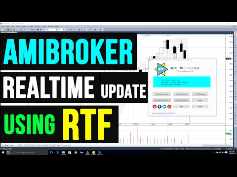 REALTIME FEEDER  - Updating NSE REAL TIME Data to AMIBROKER using RTF and EXCEL